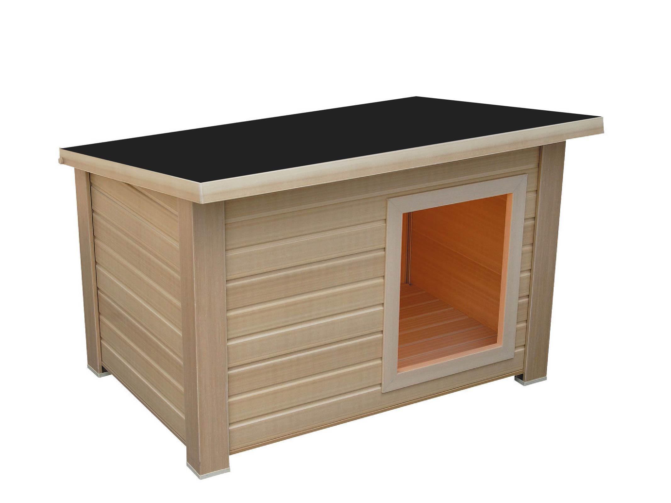 hundeh tten und st lle hundeh tte m holzh tte f r ihren hund x x pultdach. Black Bedroom Furniture Sets. Home Design Ideas