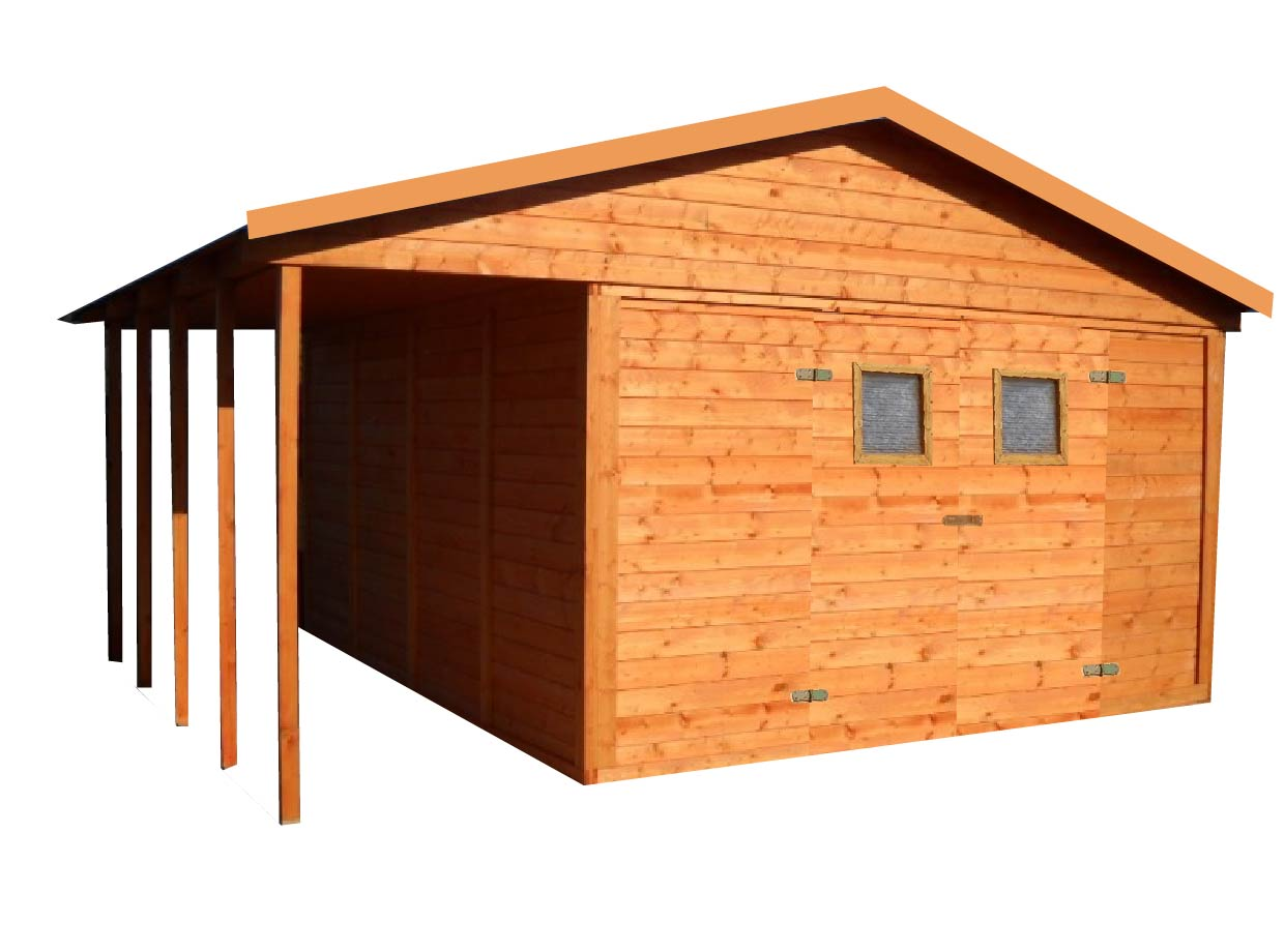 gartenh user mit terrasse gartenhaus aus holz mit terrasse 12 6m2 3 6m2 19mm mit fenstern. Black Bedroom Furniture Sets. Home Design Ideas