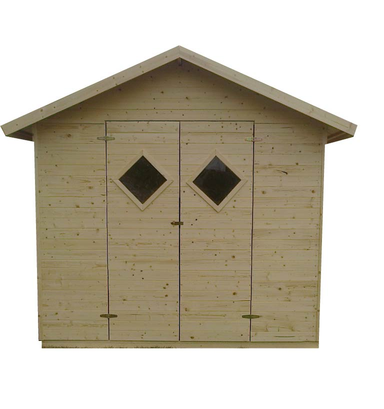 gartenh user bis 12 m2 gartenhaus aus holz 3 3m x 3 3m 16mm mit fenstern barcelona. Black Bedroom Furniture Sets. Home Design Ideas