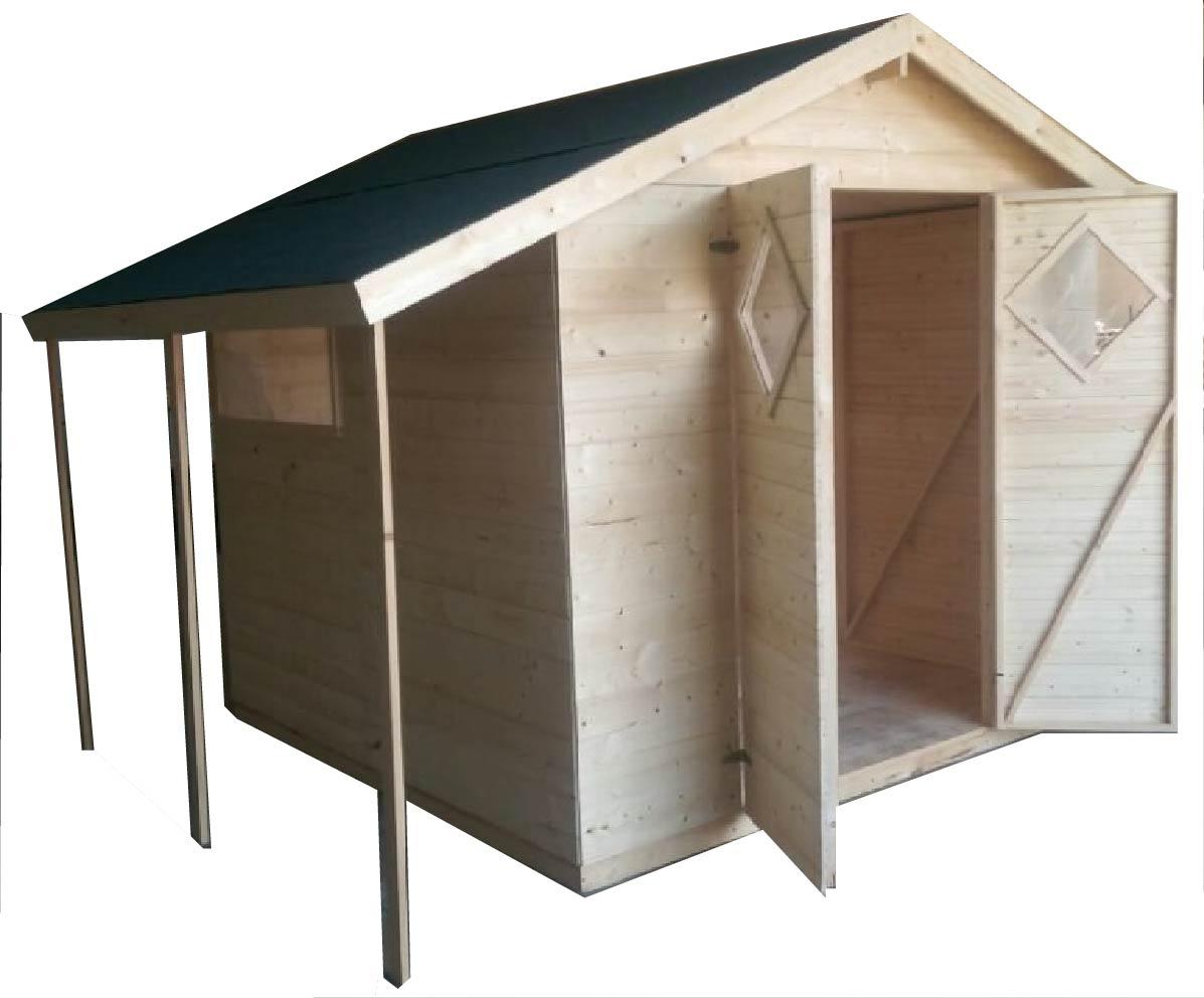 Gartenhaus 3 X 2 : gartenh user bis 12 m2 gartenhaus aus holz 4 0m x 3 3m ~ Watch28wear.com Haus und Dekorationen
