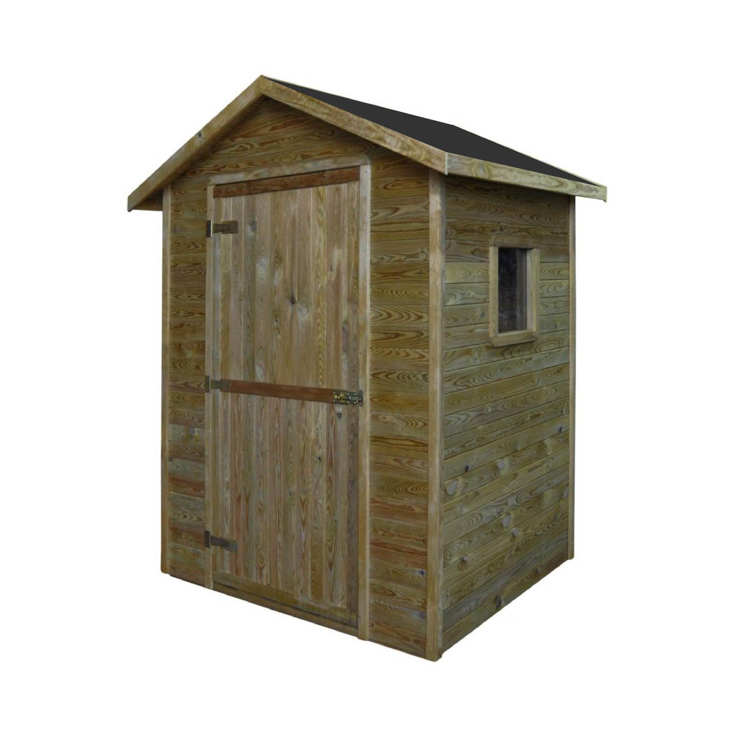 Gartenhäuser bis 4 m2 | Gartenhaus aus Holz 1,5m x 1,5m ...