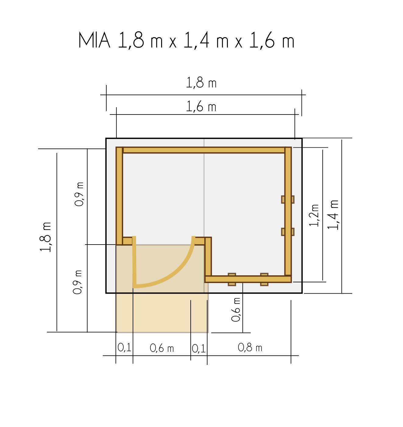 gartenh uschen f r kinder gartenh uschen f r kinder holz kinderspielhaus mia 1 8 x 1 4m. Black Bedroom Furniture Sets. Home Design Ideas