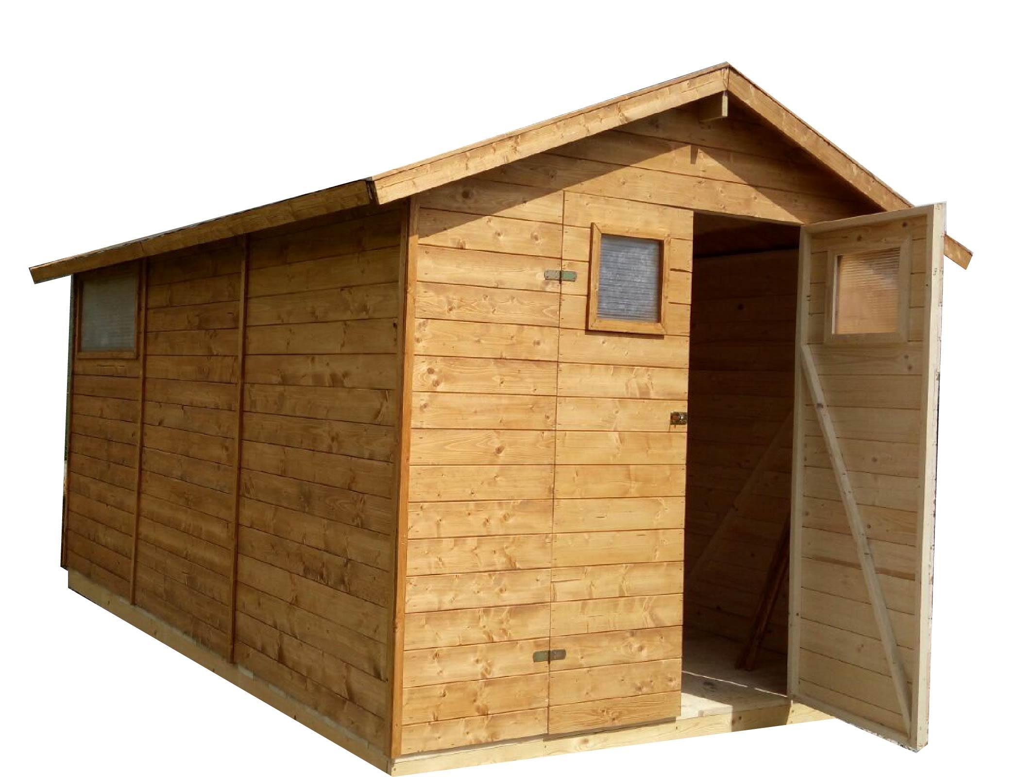 Gartenhaus Aus Holz 3,3m X 3,9m