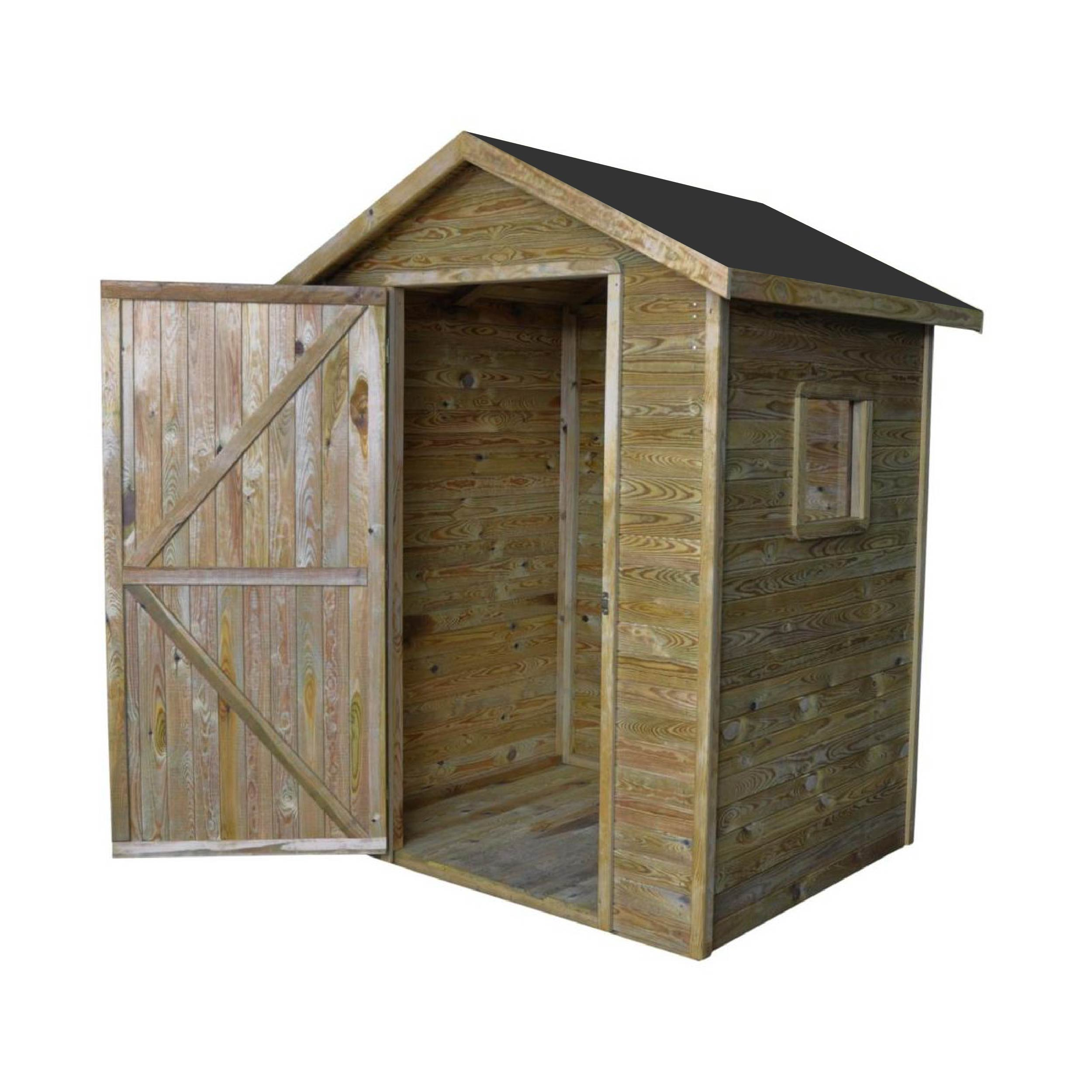 gartenh user bis 4 m2 gartenhaus aus holz 1 5m x 1 5m 19mm mit fenster zamora ger tehaus. Black Bedroom Furniture Sets. Home Design Ideas