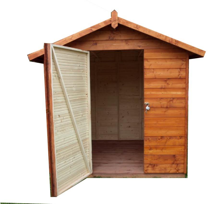 gartenh user bis 4 m2 gartenhaus aus holz 2 3m x 2 3m 19mm granada ger tehaus cadema. Black Bedroom Furniture Sets. Home Design Ideas